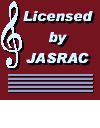 Licensed by JASRAC 許諾番号:9013316086Y45040